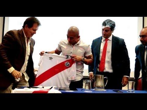 Egidio Arévalo Ríos Nuevo Refuerzo Del Deportivo Municipal.