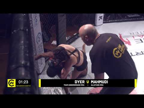 Cage Warriors Academy South East #24 - PRELIMINARY CARD