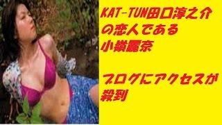 「KAT―TUN脱退」田口の恋人ブログが女優部門1位に急上昇! 動画...
