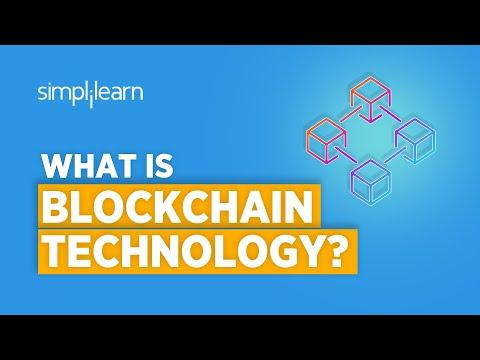 What Is Blockchain Technology? | Blockchain Technology Explained | Blockchain Tutorial | Simplilearn