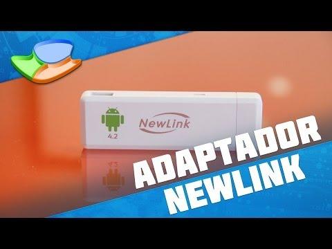 Adaptador Android para TV NewLink TV101 [Análise de Produto] - Tecmundo