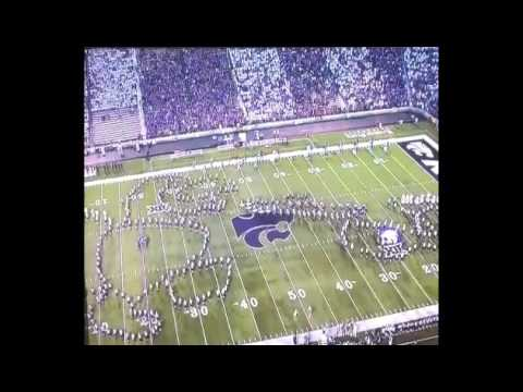 Kansas State band's halftime show sure looks like a Jayhawk performing fellatio