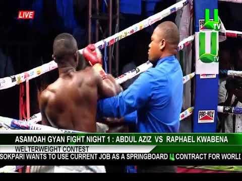 ASAMOAH GYAN FIGHT NIGHT 1: Abdul Aziz vs Rapheal Kwabena King (Welterweight Contest)