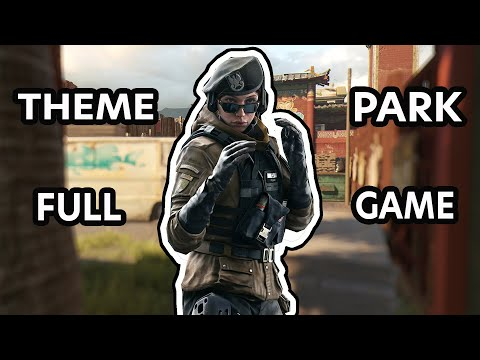 THEME PARK FULL GAME AGAINST WALL HACKERS?    Tom Clancy's Rainbow Six Siege Gameplay