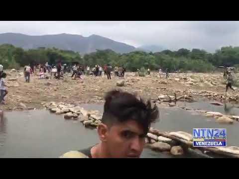 Venezolanos sometidos a pagos ilegales para transitar trochas en frontera con Colombia #16Abr