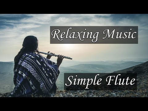 [Relaxing flute music for meditation] - Simple Flute Healing (meditation flute music 10 minutes)