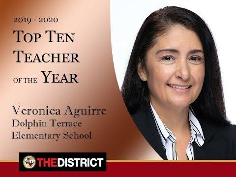 Mrs.  Veronica Aguirre Dolphin Terrace Elementary School