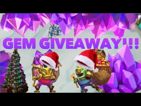 1 MILLION GEM GIVEAWAY Lords Mobile