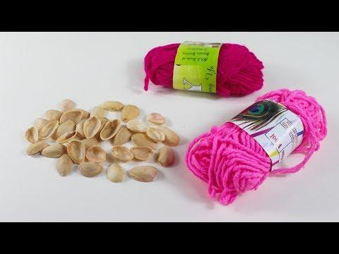 পিস্তা বাদামের খোসা দিয়ে ফ্যান্টাস্টিক আইডিয়া | Diy Arts and Crafts With Pistachio Shell
