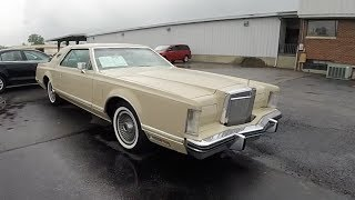 1978 Lincoln Continental Mark V Designer Series Cartier Edition|Walk-Around Video|In-Depth Review