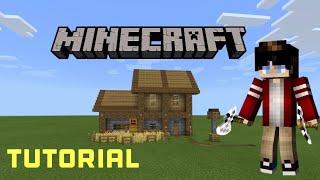 Minecraft Tutorial:COMO FAZER UMA CASA MEDIEVAL PARA SEU