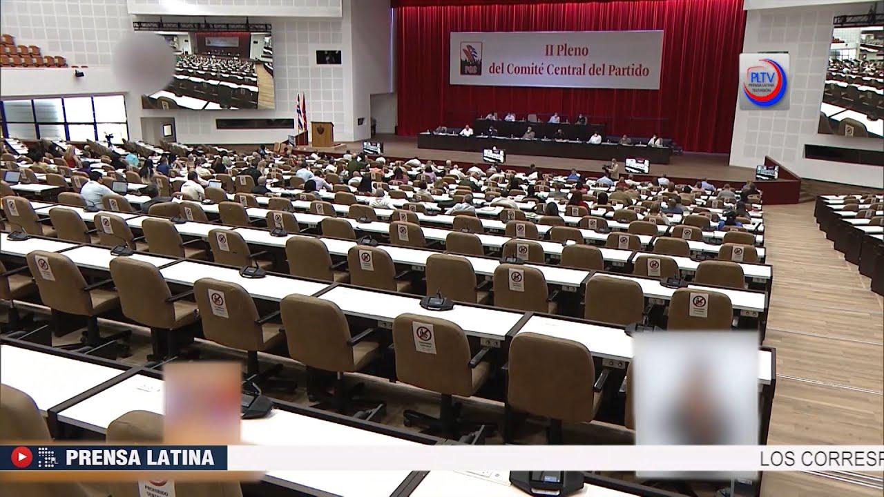 Continúa II Pleno del Comité Central del Partido Comunista de Cuba