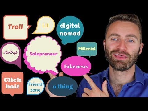 10 NEW English Words 2017 | Not in Your English Course Book!!!