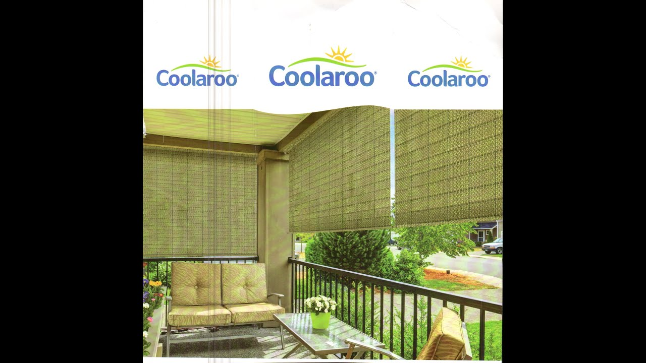 coolaroo simple lift roller shades brown light filtering cordless outdoor roller shade 457105 930965