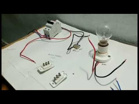 two way switch connection type 3 in telugu two way switch wiring in construction in house two way switch connection type 3 in telugu two way switch wiring in telugu