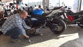 Suzuki Gsx R Motorbike Central Lift Constands Power