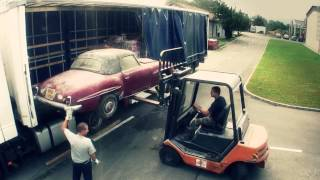 Mercedes 190SL barn find new arrival