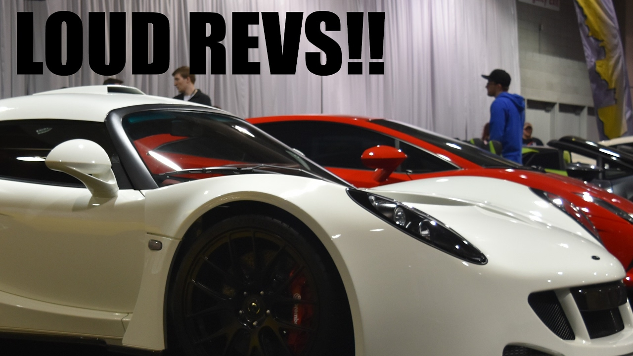 Pittsburgh International Auto Show HENNESSEY VENOM GT REVS - Pittsburgh international car show