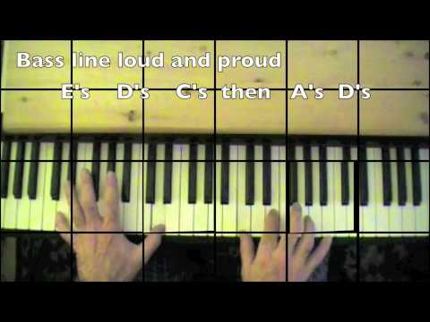 """Al Stewart-""""Year of the Cat""""- Piano tutorial-mikesmusic123"""