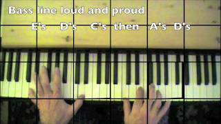 "Al Stewart-""Year of the Cat""- Piano tutorial-mikesmusic123"