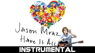 "Hello everyone! i hope you're like us because we are so happy to see jason mraz back in action! this new song ""have it all"" could be his happiest ever! ..."