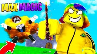 he gave me a ROBUX ONLY WAND for FREE and it had THIS.. (Roblox)