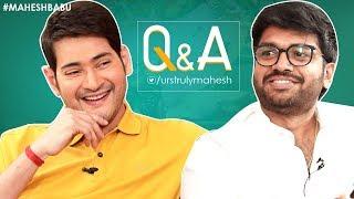 Mahesh Babu Interesting Answers To Fans | Q&A with Twitter Fans | Sarileru Neekevvaru |Anil Ravipudi