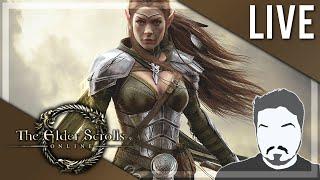 TAMRIEL ONLINE! - Elder Scrolls Online LIVE Play 3 (PC) (Livestream)