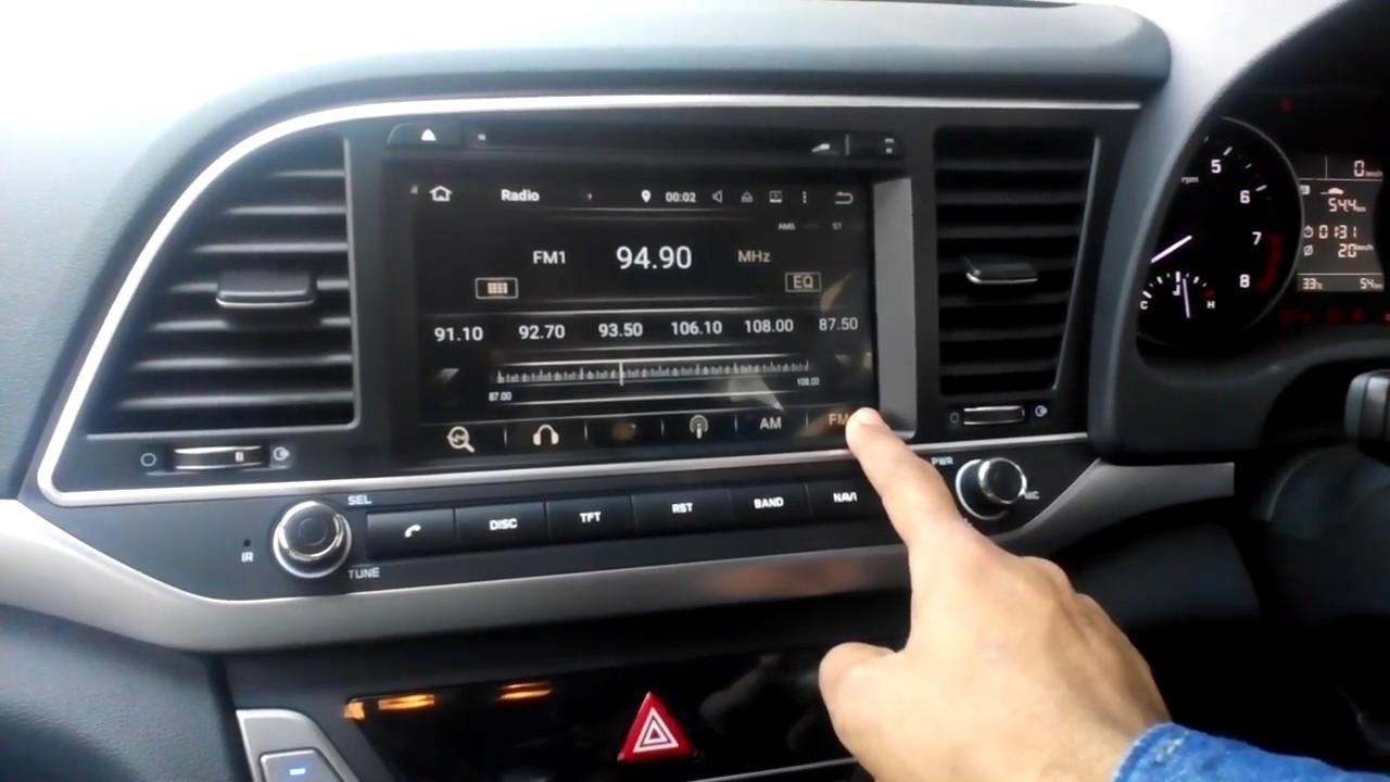 Hyundai Elantra 2016 Oem Android Navigation System