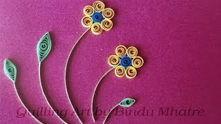 Quilling Envelopes & Flowers - New Ideas - Quilling Art India