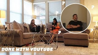 TELLING OUR DAD WE'RE QUITTING YOUTUBE *PRANK*