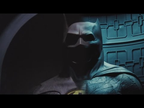 Batman v Superman (Reeve & Keaton Style)