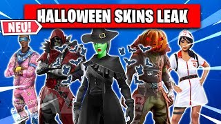 *NEW* ALL HALLOWEEN SKINS IN SHOP LEAK 🎃👻 | Fortnite Season 6 German German