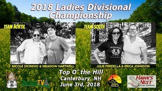 The 2018 Ladies Divisional Championship - Disc Golf Doubles