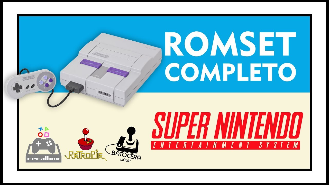 DOWNLOAD ROMSET COMPLETE OF SNES