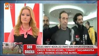Tuncer Ustael ve Emine Ustael canlı yayında gözalt