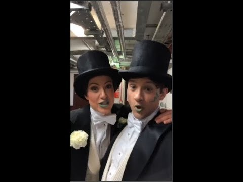 Behind the Scenes at the 2018 Olivier Awards
