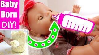 BABY BORN Special Secret Formula Recipe *REVEALED*!  Use with Caution! Baby Born Skit + DIY