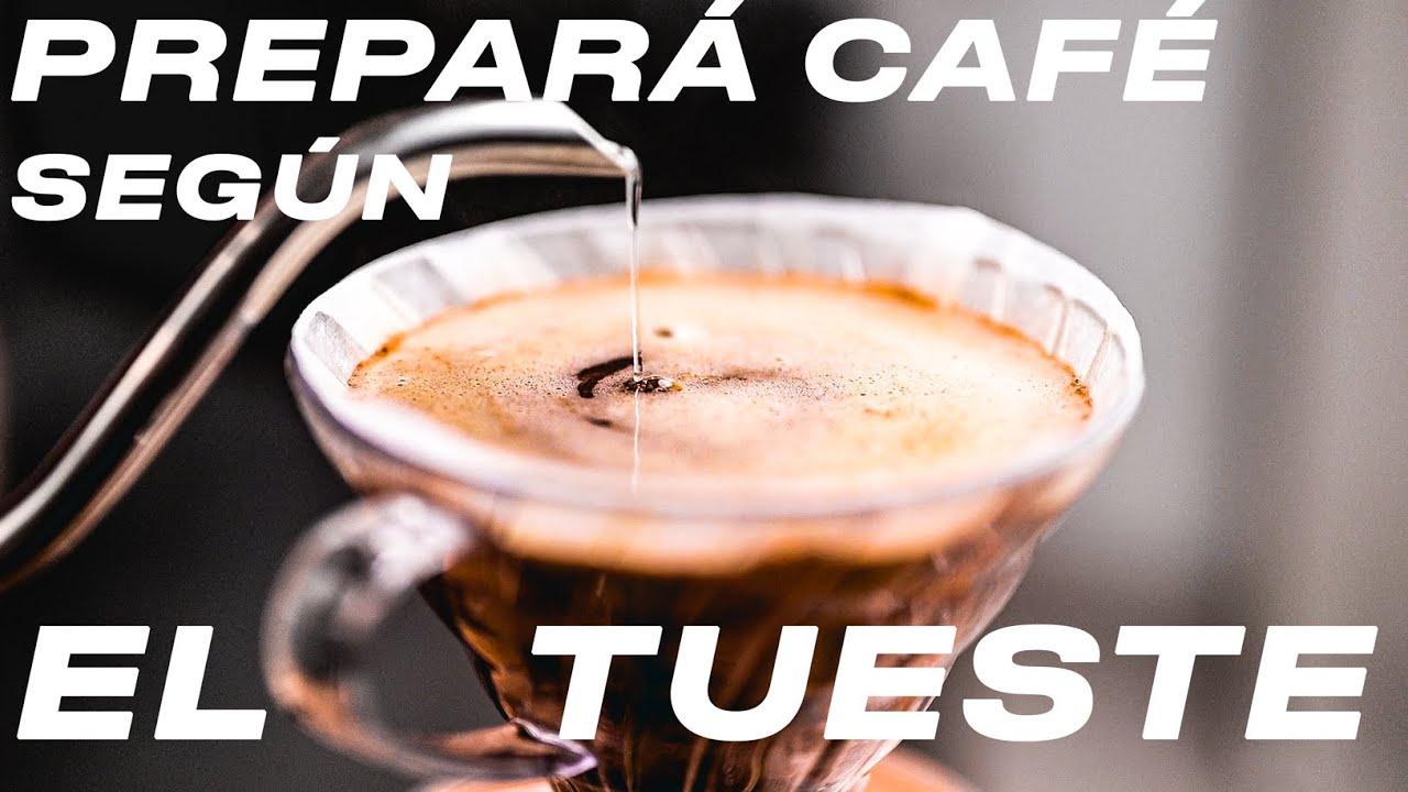 CÓMO preparar CAFÉ según el tipo de TUESTE