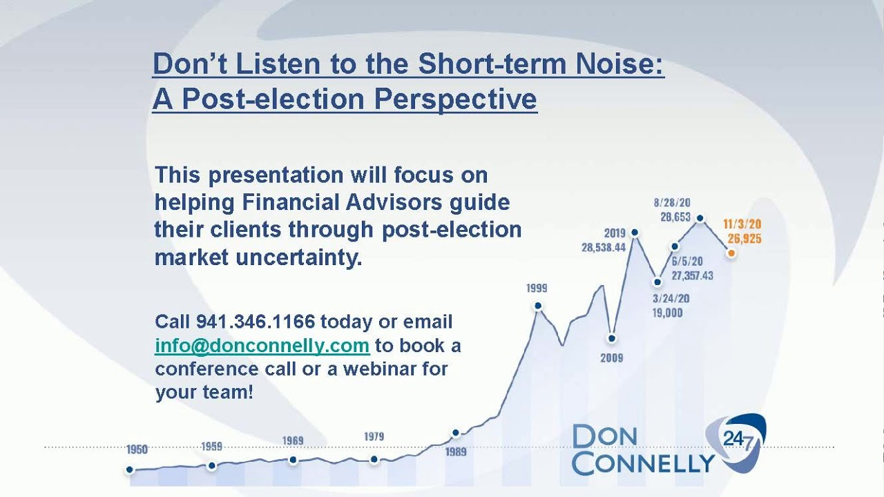 Don't Listen to the Short-term Noise: A Post-election Perspective - Presentation PREVIEW