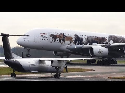 Delay & Disruption at Manchester Airport | Part 2 | RWY05L & RWY05R | 05/02/2018