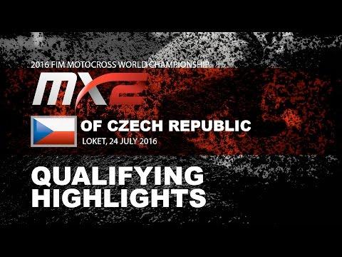 MX2 Qualifying Race Highlights MXGP of Czech Republic 2016
