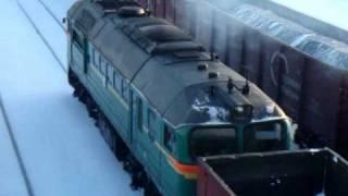 Зима на железной дороге (клип)