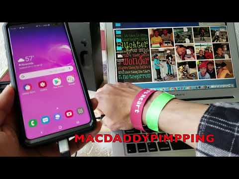How To Copy Samsung S10e S10 S10+ Android Data File Transfer To PC Or MAC! 3 9 2019