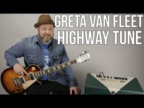 "Guitar Lesson For ""Highway Tune"" By Greta Van Fleet"