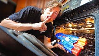 HIDE YOUR NERF GUN CHALLENGE! *FIND THEN BATTLE*