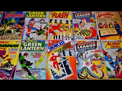 TOP 10 SILVER AGE DC COMIC BOOK COLLECTION