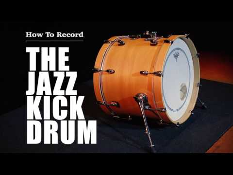How To Record The Jazz Kick Drum | Ron's Room
