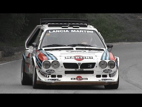 Lancia Delta S4 Gr. B Sound - Accelerations, Starts & More