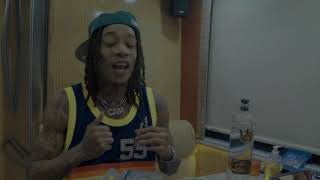 Смотреть клип Wiz Khalifa & Curren$Y - The Life